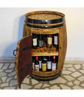 Weinfass Tischbar 017