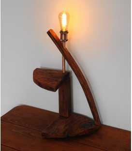 Διακοσμητικό φωτιστικό επιτραπέζιο από ξύλο 280
