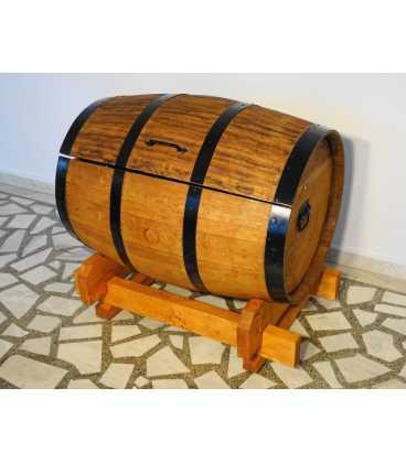 Weinfass Truhe