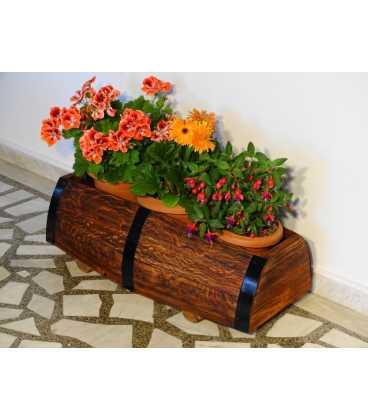 Holz Blumenkübel