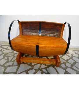 Καναπές από ξύλινο βαρέλι κρασιού 003