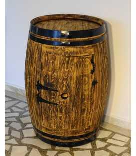 Wein barrel table-bar