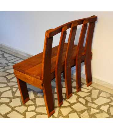 Weinfass Tischgarnitur mit 2 Stühle und einem Couch 054