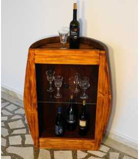 Wine barrel table-bar 055
