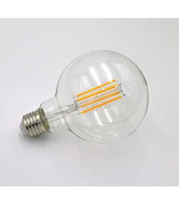 Λαμπτήρας ADELEQ LED COG GLOBE G95 ΔΙΑΦΑΝΟ Ε27 10W 230V ΘΕΡΜΟ (13-2711001000)